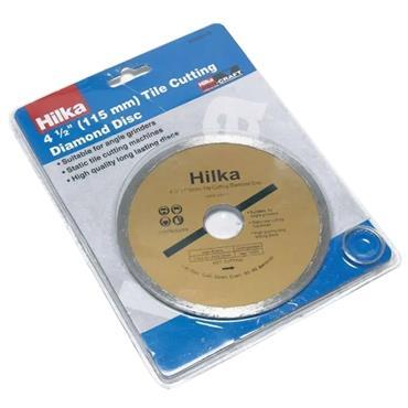 "Hilka 4.5"" 115mm Tile Cutting Diamond Disc   51302115"