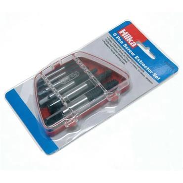 Hilka 6 Piece Screw Extractor Set | 37855006
