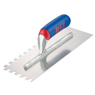 "RST 6MM SQUARE NOTCHED TROWEL 11"" X 4.5"""