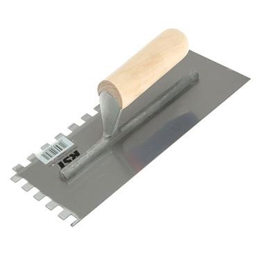 "RST 10MM SQUARE NOTCHED TROWEL 11""X4.5"""
