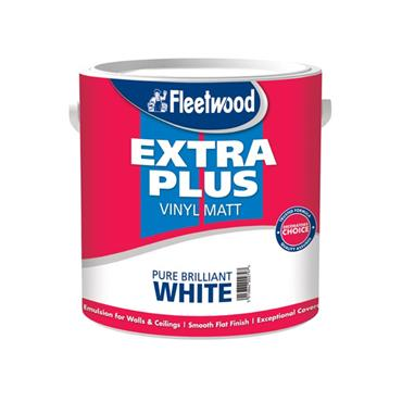 Fleetwood 2.5 Litre Extra Plus Viny Matt - Brillant White | MEP25BW