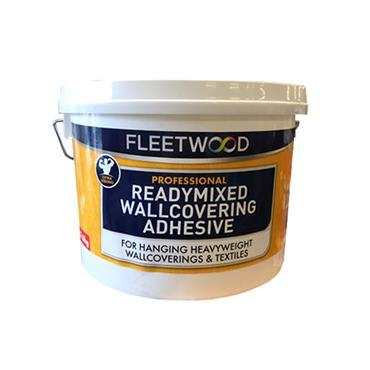 Fleetwood Ready Mixed Wallpaper Paste Adhesive 4.5kg   PAWA45