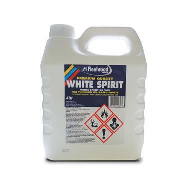 Fleetwood 4 Litre White Spirits | BOTWS40