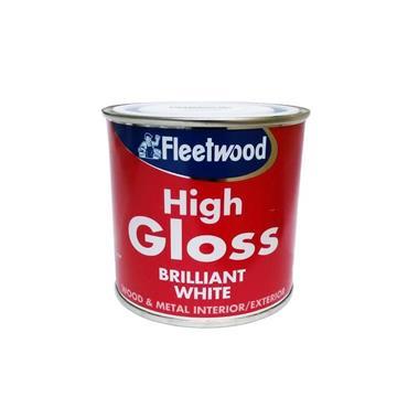 Fleetwood 250ml Gloss - White | GLO03BW