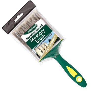 "Fleetwood 4"" Weatherguard Masonry Paint Brush 