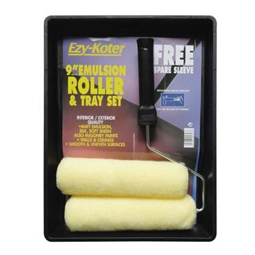 """9"""" EZYKOTR ROLLER TRAY SET 2 SLEEVES"""
