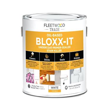 Fleetwood 500ml Bloxx-It Undercoat Primer Stain Killer - White | PBIO05BW