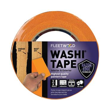 "FLEETWOOD 1.5"" WASHI MASKING TAPE 