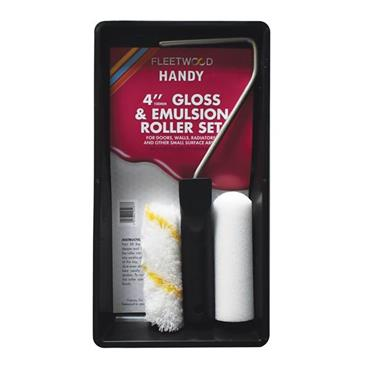 "4"" HANDY GLOSS & EMULSION SET"