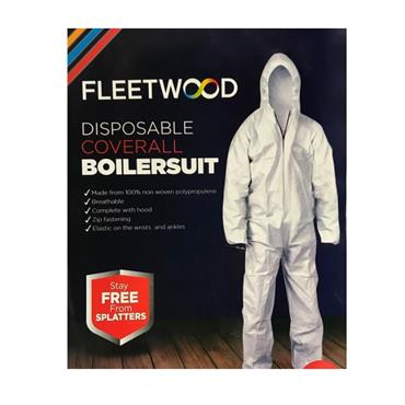 Fleetwood Disposable Coverall Boilersuit Size XL | PCBSXL