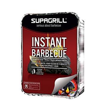 Supagrill Disposable Charcoal BBQ Tray - Party Size