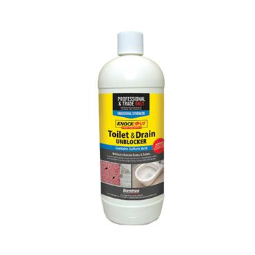 BARRETTINE TOILET & DRAIN UNBLOCKER 1 Litre