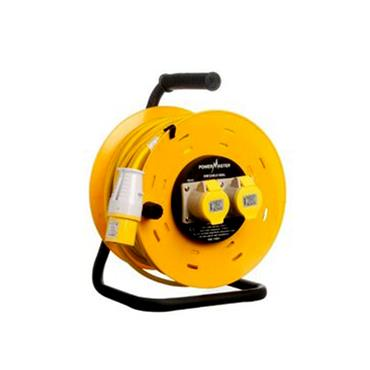 POWERMASTER 50 METRE 110V CABLE REEL | 1325-08