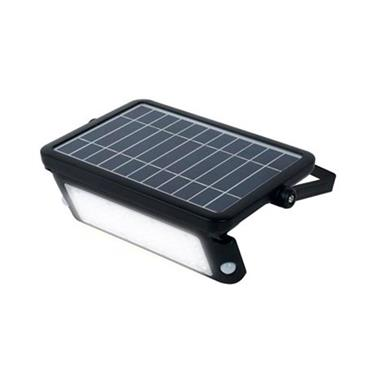 Luceco Solar Guardian Floodlight 10w with PIR | LEXSF11B40