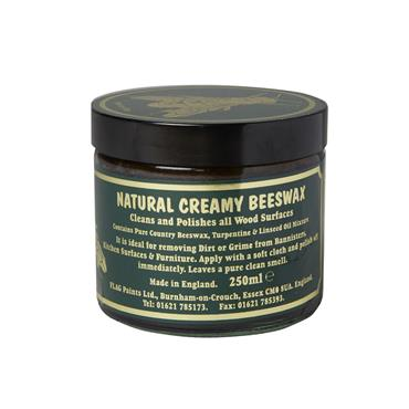Natural Creamy Beeswax 250ml - Dark | CWB025B