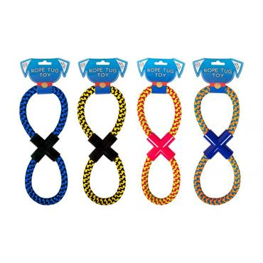 FIGURE 8 ROPE DOG TOY | WP794