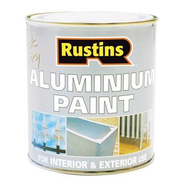 Rustins 500ml Quick Dry Aluminium Paint | R800075