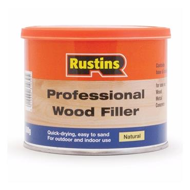 Rustins Wood Filler 500g - Natural   R690317
