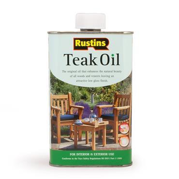 Rustins 500ml Teak Oil | R520005