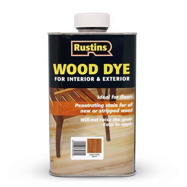 Rustins 250ml Wood Dye - Light Oak | R650060