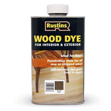Rustins 250ml Wood Dye - Walnut   R650063