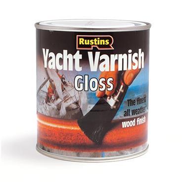 Rustins Yacht Varnish 250ml - Clear Gloss   R690001