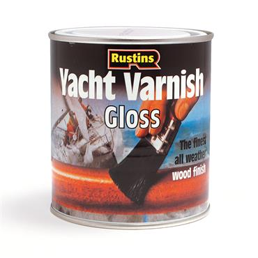 Rustins 1 Litre Yacht Varnish - Clear Gloss   R690003
