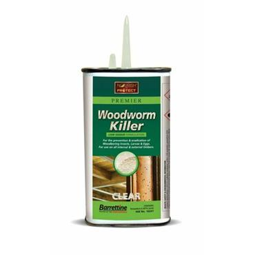 Barrettine Solvent Woodworm Killer 250ml | AM04