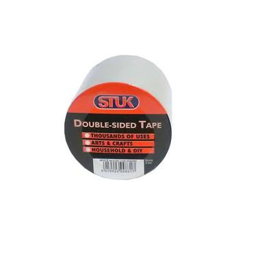 Stuk Heavy Duty Double Sided Tape 50mm x 5 Metre | 2600-51