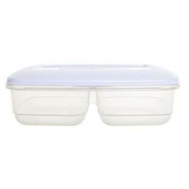 DIVIDED FOOD STORAGE BOX 2.5 LITRE