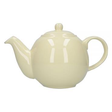 London Pottery Globe 6 Cup Teapot Ivory   30150