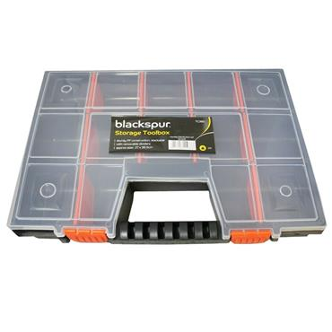 Blackspur 15 Compartments 27cm x 38cm Storage Box | BB-TC380