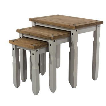 Corona Grey Nest of Tables | COR028919