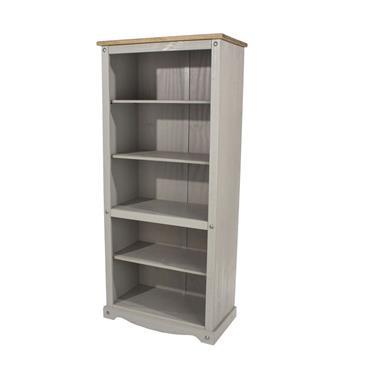 Corona Grey Tall Bookcase | COR028957
