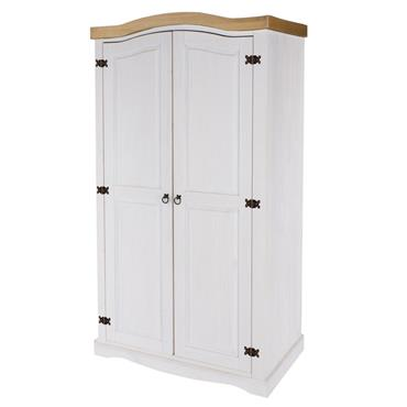 Corona White 2 Door Wardrobe | COR918173