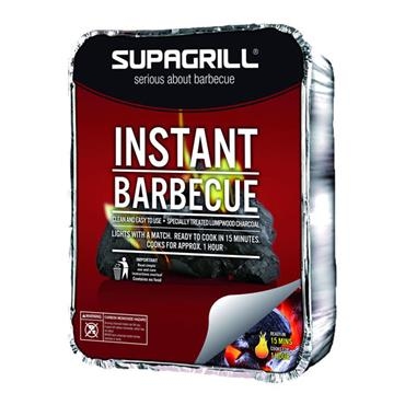 Supagrill Disposable Charcoal BBQ Tray - Single | 241214