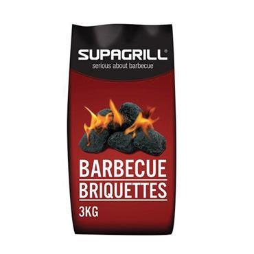 Supagrill BBQ Charcoal Briquettes 3kg