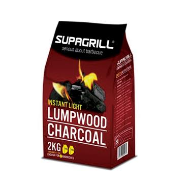 Supagrill Instant Light Charcoal 2kg