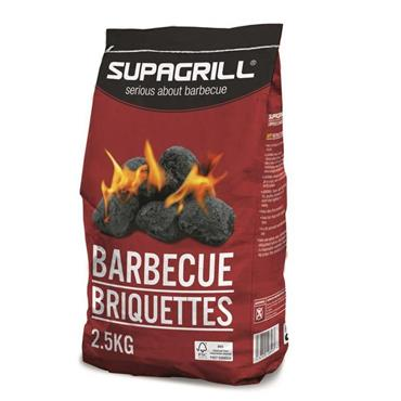 Supagrill Charcoal BBQ Briquettes 2.5kg