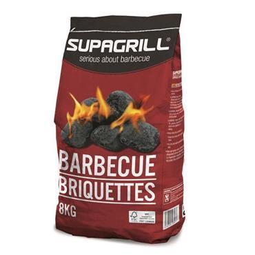 Supagrill Charcoal BBQ Briquettes 8kg