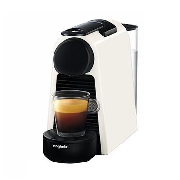 Nespresso Essenza Mini Coffee Machine by Magimix - Pure White   MLGX62I