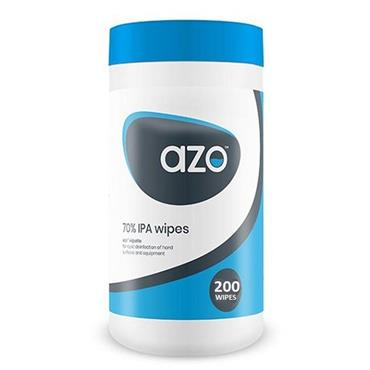 Azo Surface Disinfectant Wipes (70% Alcohol) 200 Pack | DC984