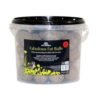 Tom Chambers Fabulous Fat Balls 50 PACK Tub