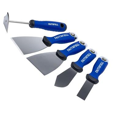 Faithfull Decorating Tool Kit 5 Piece | XMS19DECSET5