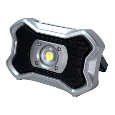 Faithfull Rechargeable 20W Work Light with Bluetooth Speaker | XMS21WLREC20