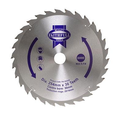 CIRCULAR SAW BLADE 250X16/25/30MM X 24T