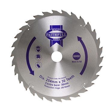 CIRCULAR SAW BLADE 254X16/25/30MM X 30T