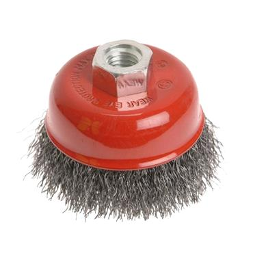 FAITHFULL WIRE CUP BRUSH 60MM X M14