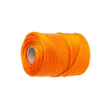 Faithfull 3250 Heavy-Duty Polyethylene Brick Line 250m (820ft) Orange | FAI3250