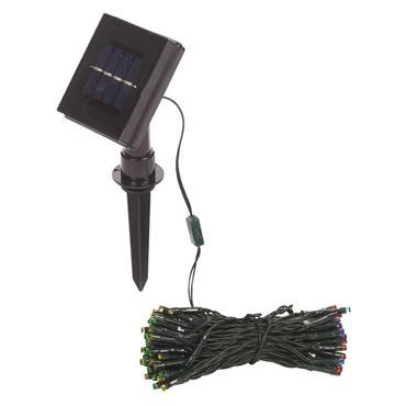 Gardenkraft 100 LED Multi-Coloured Solar String Lights